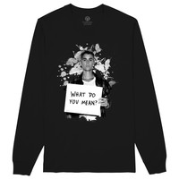 What Do You Mean? By Justin Bieber Long Sleeve T-shirt