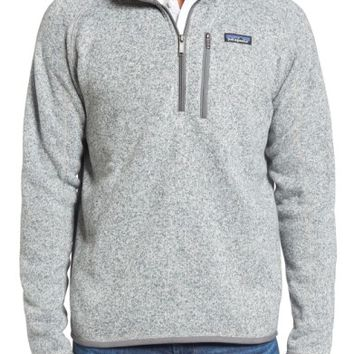 Patagonia 'Better Sweater' Quarter Zip Pullover | Nordstrom