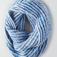 AEO Marled Infinity Scarf , Blue | American Eagle Outfitters
