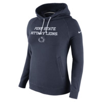 Nike Stadium Rally Funnel Pullover (Penn State) Women's Hoodie