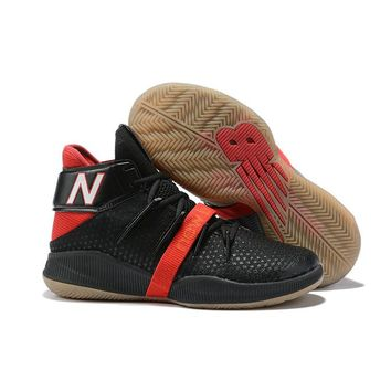 New Balance OMN1S Kawhi Leonard Black Red Basketball Shoes- Best Deal Online