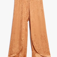 Rodebjer / Nola Jacquard Pant in Burnt Sand