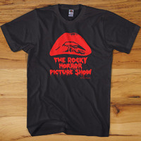 ROCKY HORROR T-Shirt - picture show glam frank n furter tim curry punk sex S M L X 2XX New