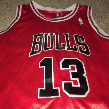 Sale!! Vintage Adidas Chicago Bulls basketball jersey Joakim Noah NBA Shirt