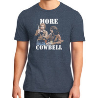 MORE COWBELL District T-Shirt (on man)