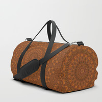 Just a Pattern Duffle Bag by Lyle Hatch