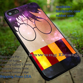 Harry Potter Art Galaxy Nebula iPhone 6s 6 6s+ 5c 5s Cases Samsung Galaxy s5 s6 Edge+ NOTE 5 4 3 #movie #HarryPotter dt