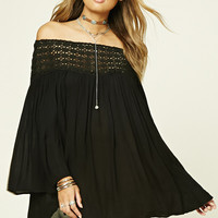 Boho Me Off-the-Shoulder Tunic