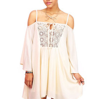 Pinwheel Lace Dress