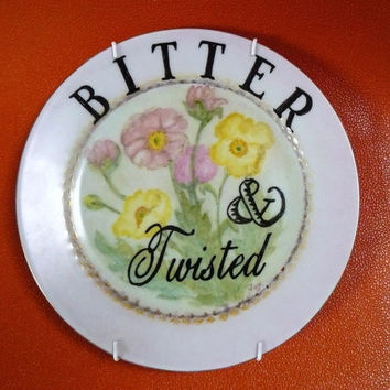Bitter and Twisted plate