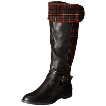 Bella Vita Womens Romy II Faux Leather Riding Boots