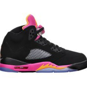Nike Store. Air Jordan 5 Retro (3.5y-7y) Girls' Shoe