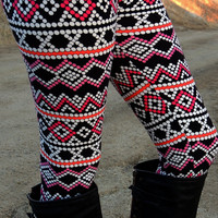 X's & O's Leggings - ONE
