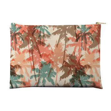Summer Palm Trees Pouch