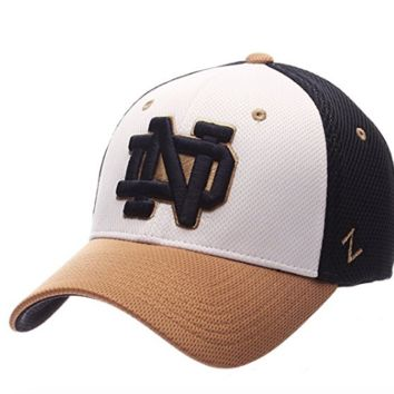 Notre Dame Fighting Irish Kickoff Flex Fit Hat By Zephyr