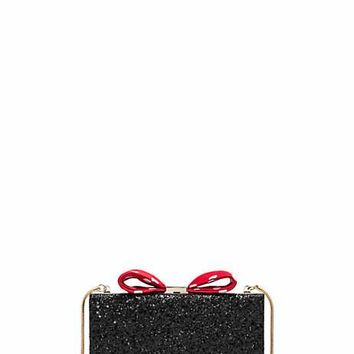 kate spade new york for minnie mouse bow clasp clutch