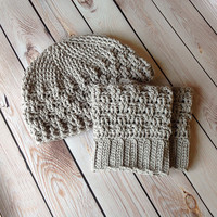 Texture Weave Boot Cuffs pattern by Crochet by Jennifer