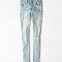 Hi-rise Jegging (Light Destroy Wash)