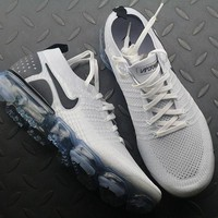 Nike Air VaporMax 2.0 White Black | 942842-103 Sport Running Shoes - Best Online Sale