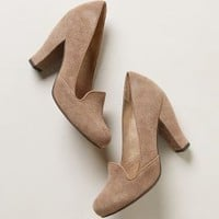 Chateau Heeled Loafers by Seychelles Taupe 8 Flats
