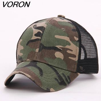 Trendy Winter Jacket VORON 2017 New Blank mesh camo Snapback Hats camouflage hip hop mens women Casquettes bboy gorras bones baseball caps solid hat AT_92_12