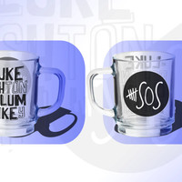 5 Seconds of Summer Luke Michael Calum Ashton Mug Mugs Cups Travel Mugs Promotional Items Gifts Accesssories