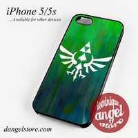 Zelda Logo Art Phone case for iPhone 4/4s/5/5c/5s/6/6s/6 plus