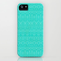 Field of Hearts iPhone & iPod Case by Pom Graphic Design