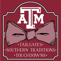 Southern Couture University of Texas A&M Aggies Preppy Bow Girlie Bright T Shirt
