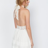 Free People Angelica Halter Gown