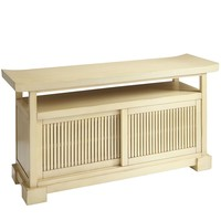 Fung TV Stand - Ivory