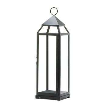 10 Extra Tall Black Wedding Contemporary Lanterns