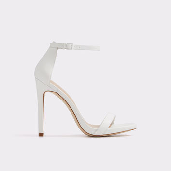 Caraa White Women's Open-toe heels | ALDO US