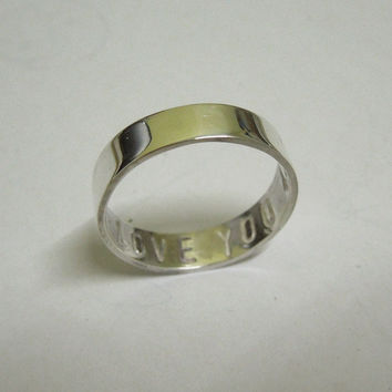 Sterling Silver Ring Band