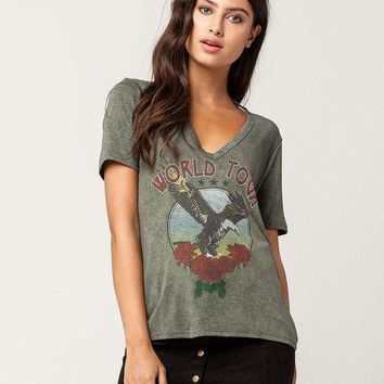 WHITE FAWN World Tour Womens Tee