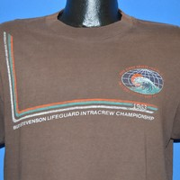 80s Hang Ten International Surf Festival 1983 t-shirt Large