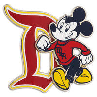 Mickey Mouse Collegiate Pin - Disneyland