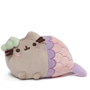 Gund Pusheen Mermaid Spiral Shell Plush 7""
