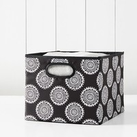 Closet Sweater Bins, Medallion Black Florette