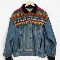 Vintage Levi's Tapestry Denim Jacket - Urban Outfitters