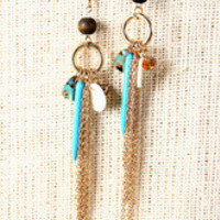 Natural Trinkets Earrings