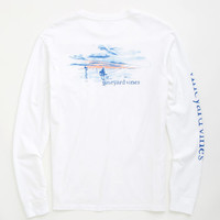 Long-Sleeve Fly Fishing Graphic T-Shirt