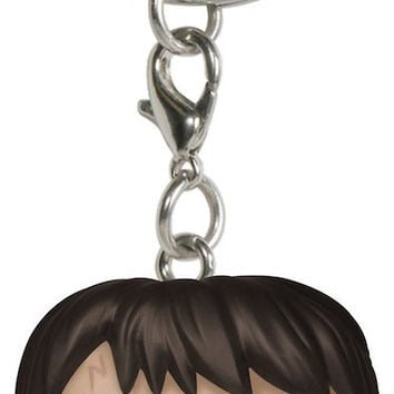 Funko POP Movies Harry Potter Keychain Figures Key Ring Hanger