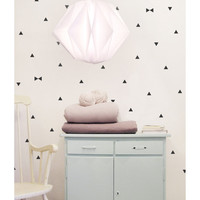 Wall Decal Black Triangle Stickers | Tayo Studio
