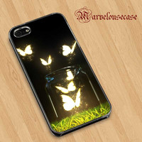 Glowing Butterflies custom case for all phone case
