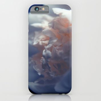 White Peony iPhone & iPod Case by Cinema4design
