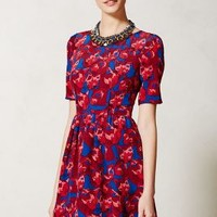 Cheshire Dress by Peter Som for Made in Kind Red Motif