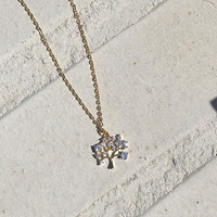 Rhinestone Chain Necklace by 66girls