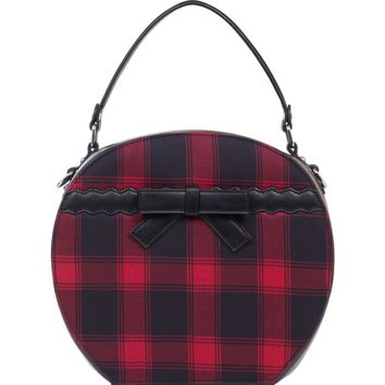 Jawbreaker Red Tartan Plaid Handbag