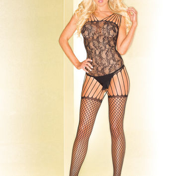 Abstract Pattern Bodystocking